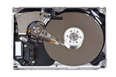 Open hard drive — Stockfoto