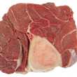 Stock Photo: Beef hind shank steak