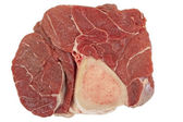 Beef hind shank steak — Stock Photo
