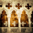 Doge palace fragment — Stock Photo