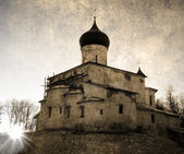 Russian orthodoxy church — Stockfoto