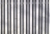 Grey wooden fence — Stock Photo