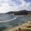 Hanauma Bay Overview Oahu Hawaii — Stock Photo