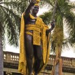 Honolulu Hawaii King KamehamehStatue — Foto de stock #9448548