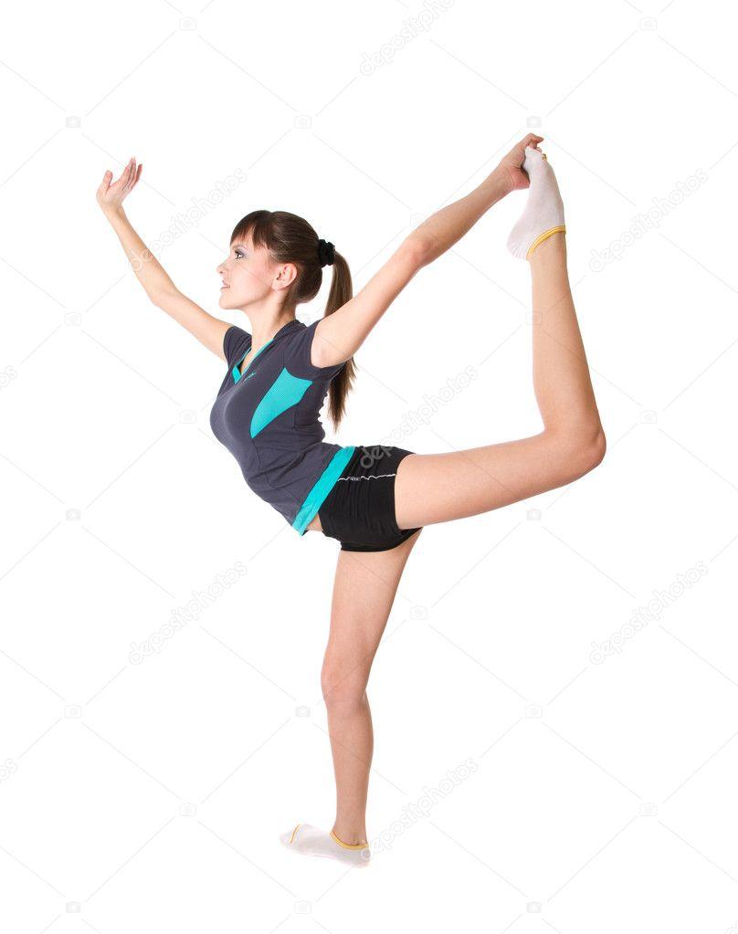 Teenage Gymnastic 25