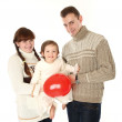 New family with child — Stock Photo #9832540