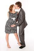 Giovane coppia aspetta un bambino — Foto Stock