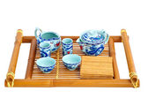 Set for tea ceremony — ストック写真