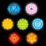 Chakra-Symbolen — Stockvektor