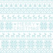 Royalty-Free Stock Vector Image: Christmas nordic pattern