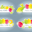 Easter banners — Stock Vector #9639045