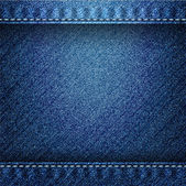 Denim background — Stockvector