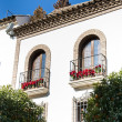 Foto Stock: Spanish Balconies