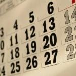 Calendar — Stock Photo #9209071