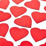 Hearts shape love — Stock Photo
