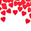Hearts shape love — Stock Photo
