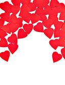 Amore forma cuori — Foto Stock
