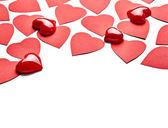 Miłość kształt serca — Zdjęcie stockowe