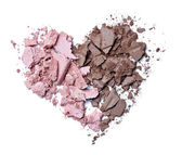 Hearts shape love cream face powder — Stock Photo