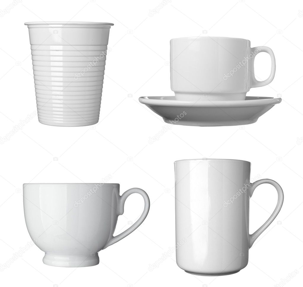 Mr Coffee Coffee Maker Smells Like Plastic : White coffee cup beverage drink food Stock Photo ? PicsFive #10427641