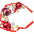 Christmas decoration ornament new year holiday — Stock Photo