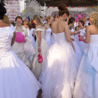 Stock Photo: Brides parade 2011