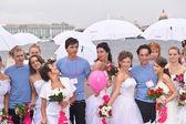 Brides parade 2011 — Stock Photo