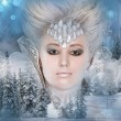 Snow queen — Stock Photo #10473641