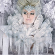 Snow queen — Stock Photo