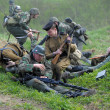 Reconstruction of the Second World War - Stock Photo