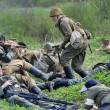 Reconstruction of the Second World War — Stock Photo #10551038