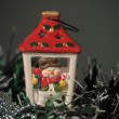 Christmas lamp - Foto Stock
