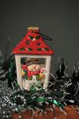 Christmas lamp — Stock Photo