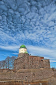 St Olaf castle in Vyborg — Stock Photo