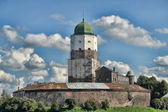 The tower of st. Olaf. Vyborg — Stock Photo