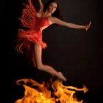 flamy シンボル — ストック写真
