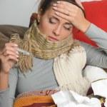 Sick woman — Stock Photo #9306176