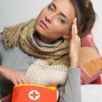 Headache migraine — Stock Photo #9306350