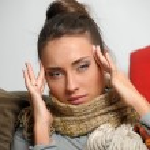 Headache migraine — Stock Photo #9306356
