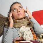 Headache migraine — Stock Photo #9306409