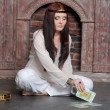 The fortuneteller — Foto Stock