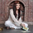 Foto Stock: The fortuneteller