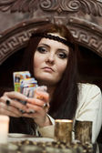 The fortuneteller — Stock Photo