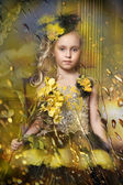 Young princess — Stock Photo