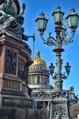 Catedral na cidade de são petersburgo — Foto Stock
