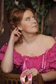 Damen i den viktorianska eran — Stockfoto