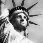 Постер, плакат: America statue of liberty liberty island