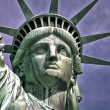 America-statue of liberty-liberty island - Stock Photo