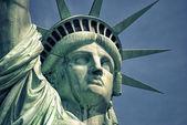 Ameryka statua wolności liberty island — Zdjęcie stockowe