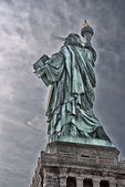 America-statue of liberty-liberty island — Stock Photo